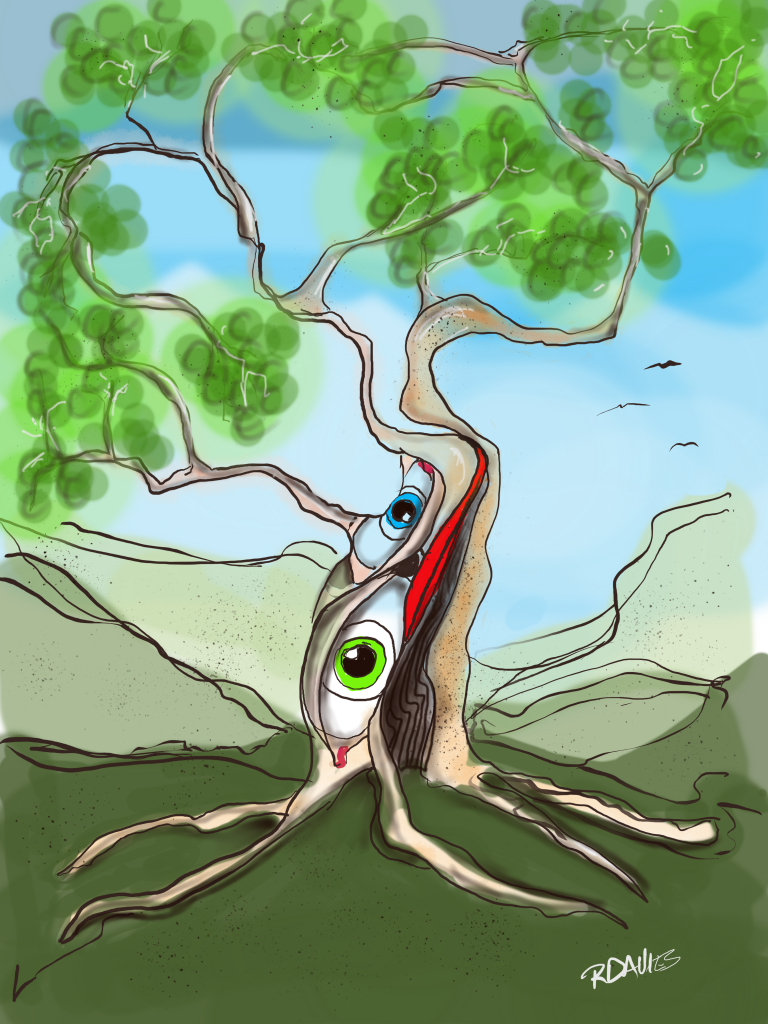 "An imaginary tree from the ""Mind of D"""